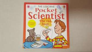 Usborne - Pocket Scientist (Red book)