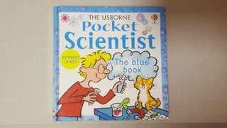 Usborne - Pocket Scientist (Blue book)