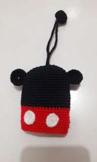 Mouse keypouch