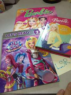 Take All‼️Barbie reading and activity books