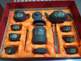 Purple Clay Chinese Tea set