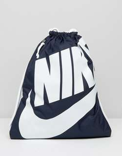 Authentic & Brand New Nike Heritage Drawstring Gymsack [Fixed Price]