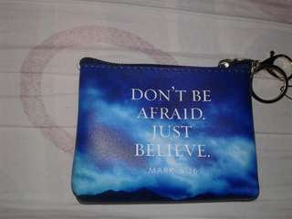 Wallet with bible verse