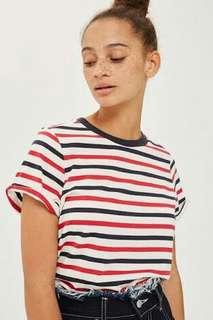 Topshop Roll Back Tshirt