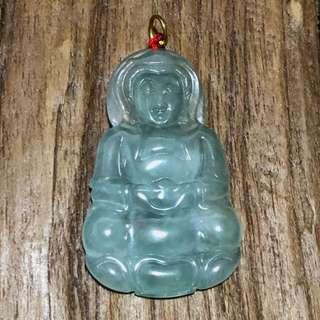Burmese Jade Pendant Guan Yin 观音