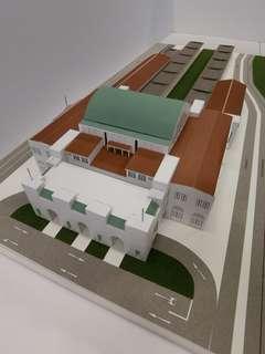 Tanjong Pagar Railway Station Model