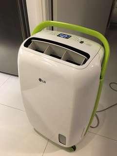LG 18.7L dehumidifier made in Korea