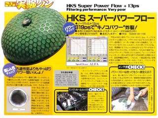 HKS SUPER POWER FLOW ORI JAPAN