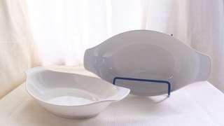 Boat Shaped Bowls