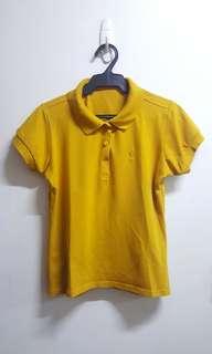 Yellow Mustard Polo Shirt