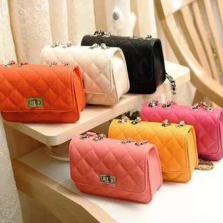 Korean fashion candy sling bag 💋