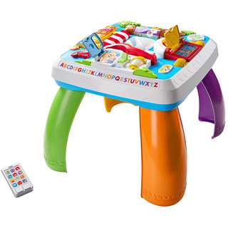 Fisher Price DHC45 Laugh & Learn Around The Town Learning Table
