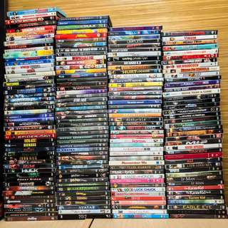 208 pcs all Original DVD movie collection