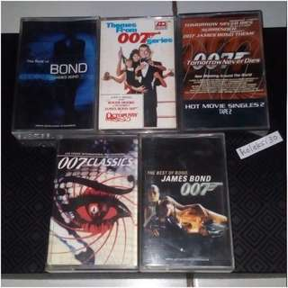 Kaset James Bond 007
