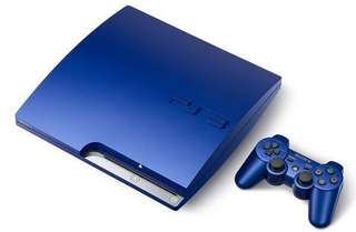 PS3 Console slim (limited edition color) with free games