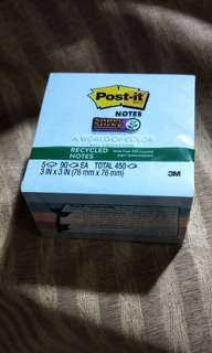 Post-It Notes 450 pc