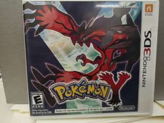 Pokemon Y selling for 20 sgd