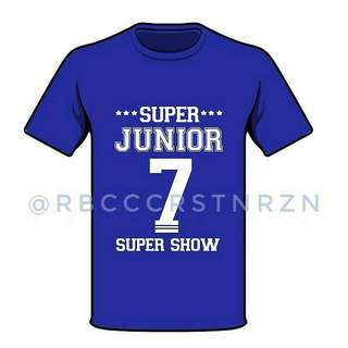 SUPER JUNIOR TSHIRT FOR #SS7MANILA FOR SALE!!!