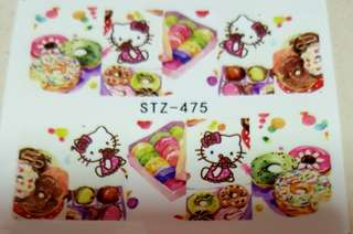 Fruits/Candy Day! Water Nail Art Sticker