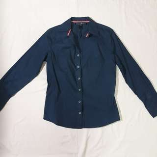 Denim Type Blouse