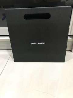 Saint Laurent paper bag