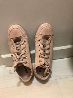 Authentic Converse Pink Sneakers