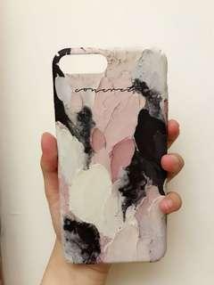 文青復古油畫iphone7 plus 8plus case電話殼