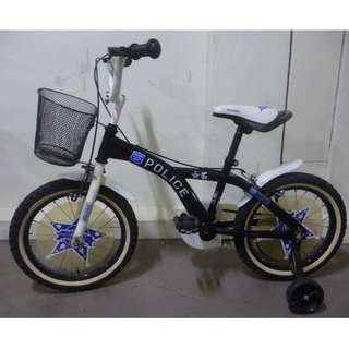 Rudge police bike bicycle Excellent condition Can remove training wheels