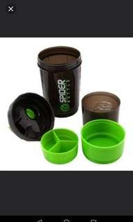 Shaker bottle 3in1