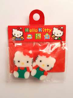🆕️2PK Official Hello Kitty Collectable Erasers