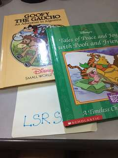 Book Bundle‼️ - Disney's Winnie the Pooh and Goofy the Goucho