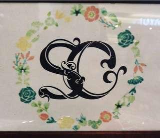 Wedding Monogram (Customised)