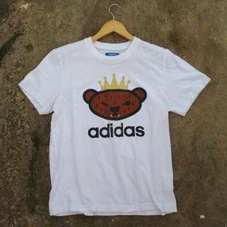 Adidas bear logo Tee