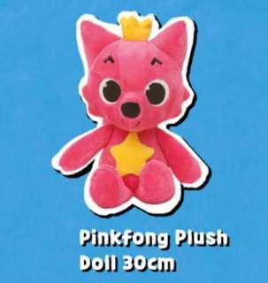 Pinkfong Plush Doll 30cm