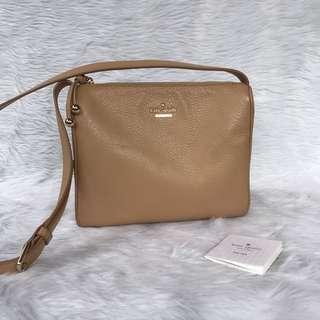 Kate Spade Leather Crossbody Messenger Bag
