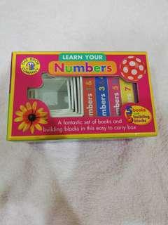 Number books & block
