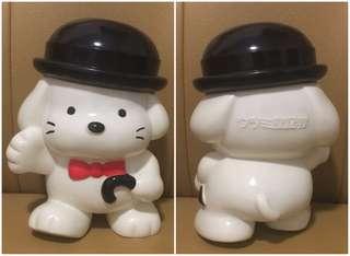 ** 分享 ** Sanrio Peter Davis 1977 1990 (ウツミ屋証券 ~ 非賣品) 人形膠儲金箱 (8 吋高)