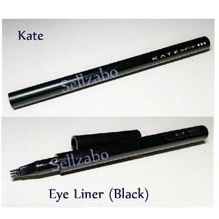 Used Eye Liner : Kate Gap Black Colour Filling Liquid Sellzabo Makeup Cosmetics Eyeliner