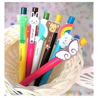 Cartoon design Ballpoint Pens (assorted designs)