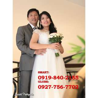 Wedding Photographer in any areas in Metro Manila or Rizal area