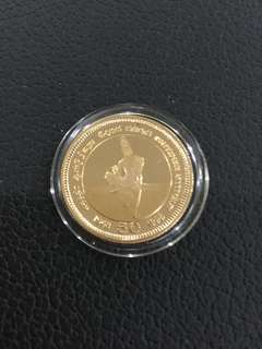 Srilanka 50 years of Independence gold proof coin