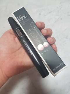 The Face Shop 2 in 1 curling mascara