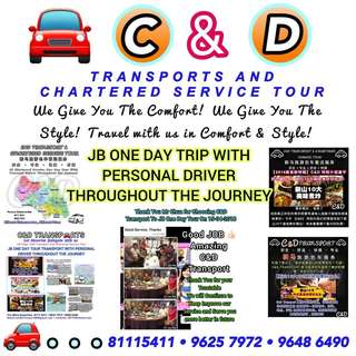 Malaysia Transports Service 🚗 Provide One Day Trip With Personal Driver Throughout the Journey , Two Way Transport.