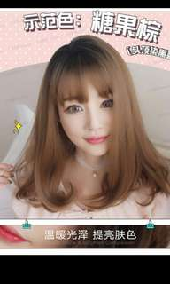 *Best selling😍 Preorder korean Air fringe pear middle length ladies wig * waiting time 15 days after payment is made * chat to buy to order