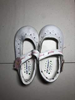 Dr.kong white doll shoes