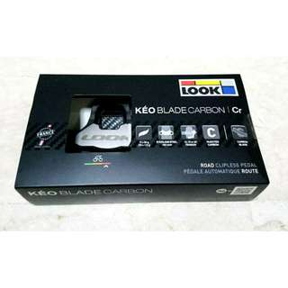 (FREE Registered Mailing & Price Dropped) Original Look Keo Blade Carbon CR 12nm with Look Cleats Included