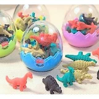 Party Favors - Mini Dinos in Egg Holder