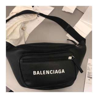 全新代訂 balenciaga logo belt bag