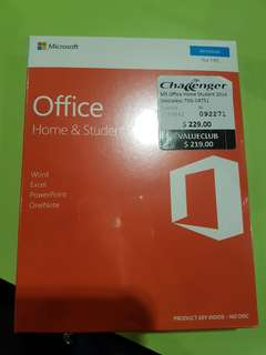 Microsoft Office (Home & Student 2016) plus Norton Security Standard Package