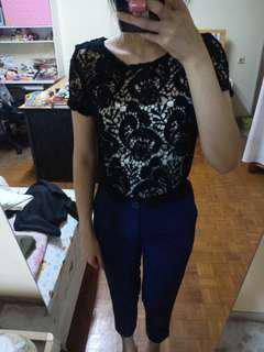 HnM Top Black